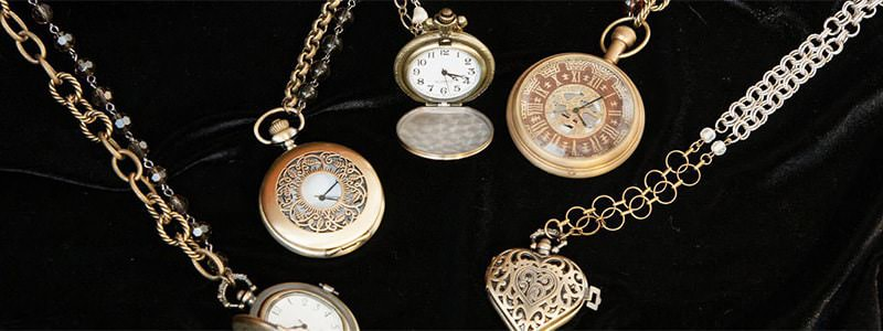 Timepiece Necklaces