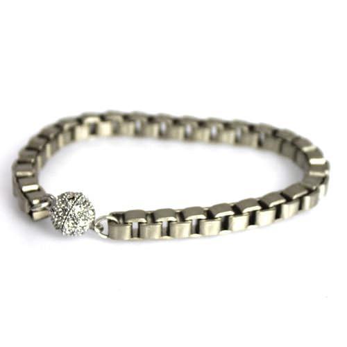 Large Box Link Bracelet