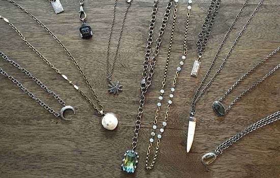 ELLA Designs Jewelry Necklaces Group Shot 2017