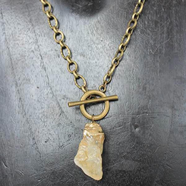 Light Quartz Necklace