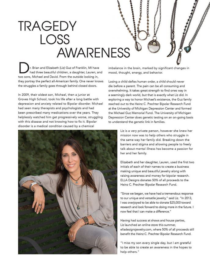Ella Designs Jewelry - Inspiring Woman Article