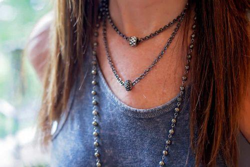 Ella Designs Jewelry Necklaces closeup landscape