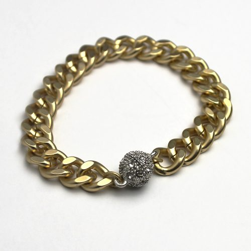 matte-gold-biker-chic-bracelet