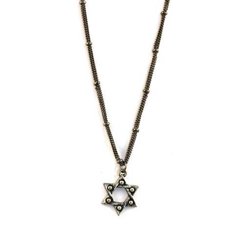 Silver Jewish Star