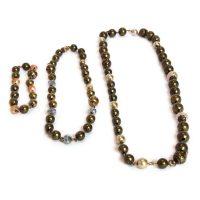 Single Bracelet, 2 made into a choker, 3 made into a necklace 6675