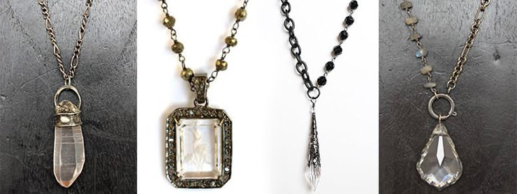 New Crystal Necklaces Collection