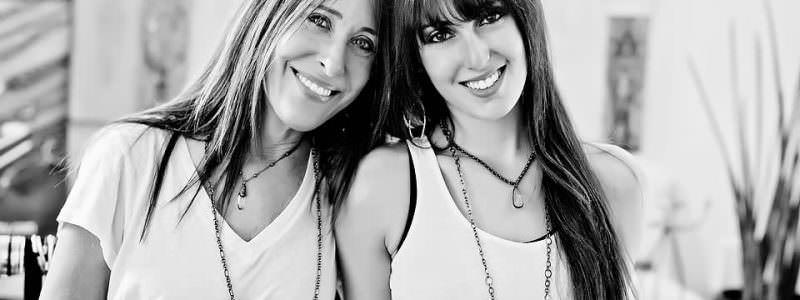 Elizabeth and Lauren Guz - Black & White